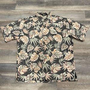 Cooke Street Authentic Hawaiian Shirt Size Large